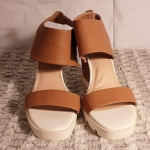 "Wedge Heels by ""Liliana"""